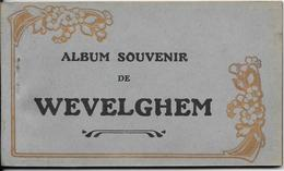 Wevelghem. Scheurboekje Met 12 Zichtkaarten. - Wevelgem