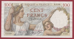 "100 Francs ""Sully"" Du 04/04/1940.GZ.---TTB--ALPH -R.9168 - 1871-1952 Antichi Franchi Circolanti Nel XX Secolo"