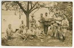 PERRANCEY SAINT CIERGUES Bords Du Lac,13 Juin 1934, Peloton De La CM à La Soupe( Texte Dos) - Francia