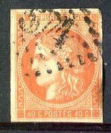 FRANCE ( POSTE ) S&P  N°  48  TIMBRE  BIEN  OBLITERE, A SAISIR . B 20 - 1870 Uitgave Van Bordeaux