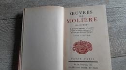 L'avare Monsieur De Pourceaugnac Les Amants Magnifiques Le Bourgeois Gentilhomme  Molière Gravures 1927 - Théâtre