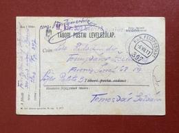K.U.K. FELDPOSTAMT 397 - 6 VII 17 - TABORI POSTAI - Guerre 1914-18