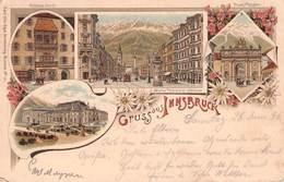 INNSBRUCK - GRUSS AUS 1896 /ak624 - Innsbruck