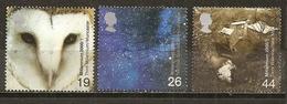 Grande-Bretagne Great Britain 2000 Millenium Ciel Du Nuit, Hibou  Night Sky Owl Etc Obl - 1952-.... (Elizabeth II)