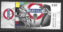 Allemagne 2019 Timbre Oblitéré Beat Club - Used Stamps