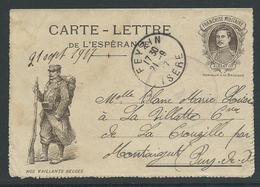 Carte-Lettre De L'Espérence Verstuurd Uit Frankrijk 21.9.17. - Other