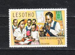 Lesotho  -  1974.  Istruzione Superiore: Al Microscopio. Higher Education: To The Microscope. MNH - Química