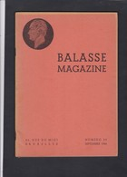 BALASSE MAGAZINE N° 35 Sept.1944 - Guides & Manuels