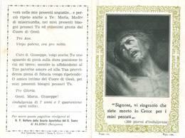 Santino Triduo Al S.cuore Di Gesu' - Pieghevole A Due Ante - Santini