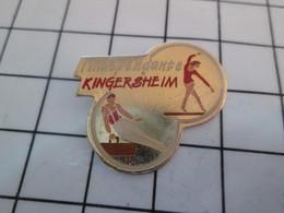 1115b Pin's Pins / Beau Et Rare / THEME : SPORTS / GYMNASTIQUE CLUB L'INDEPENDANTE KINGERSHEIM - Gymnastique