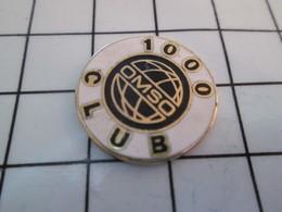 1115b Pin's Pins / Beau Et Rare / THEME : MARQUES / OMSO 1000 CLUB - Gymnastique
