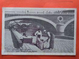 CPA (75) Les Petits Métiers Parisiens.Le Tondeur De Chiens.Pub MOKA WILLOT..(N.1643) - Straßenhandel Und Kleingewerbe