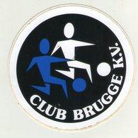 AUTOCOLLANTS . STICKER . BRUGGE .  FOOTBALL . VOETBAL . .CLUB BRUGGE K.V . - Autocollants