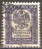 Pologne - 1935 - Armoiries - YT Service 19 Oblitéré - Officials
