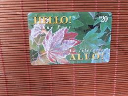 Phonecard Canada 20 $ Used Rare - Canada