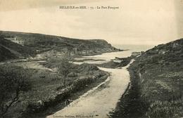 Belle Ile En Mer - Le Port Fouquet - éditeur Petitjean N°73 - Belle Ile En Mer
