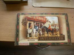 Old Wooden Tobacco Box Intermezzo 10 Stuck - Cajas Para Tabaco (vacios)