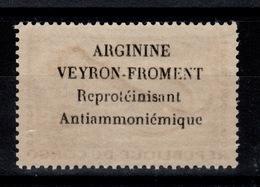 Congo - Rare Publicite ARGININE VEYRON Froment Au Dos Du 2 Francs Poissons N** - Congo - Brazzaville