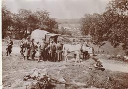 Photo 1903 Secteur LONS-LE-SAUNIER - 44ème Régiment D'infanterie Aux Feux De Guerre (A219, Ww1, Wk 1) - Guerre, Militaire