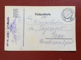 K.U.K. ETAPPENPOSTAMT 177 - 10 XI 16 - Guerre 1914-18