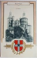 LE CHÂTEAU - CARTE GAUFRÉE - MONTBÉLIARD - Montbéliard