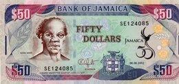 JAMAICA 50 DOLLARS 2012  P-89  UNC - Jamaica