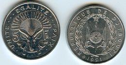 Djibouti 5 Francs 1991 UNC KM 22 - Djibouti