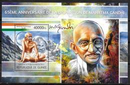 GUINEE  BF 1495 * * ( Cote 20e ) Gandhi - Mahatma Gandhi