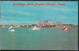 °°° 19585 - USA - TX - GREETINGS FROM CORPUS CHRISTI - 1976 With Stamps °°° - Corpus Christi