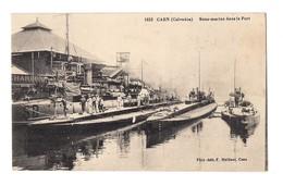 CAEN - SOUS MARINS Dans Le Port - Sous-marins