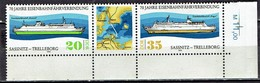 DDR / GDR -  Mi-Nr 2429/2430 Zdr Postfrisch / MNH ** (A1140) - Schiffe