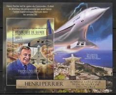 GUINEE  BF 1401 * * ( Cote 20e ) Avions Concorde Henri Perrier - Concorde