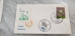 1971 Savona Liguria Raduno Filatelico Esposizione Filatelica E Numismatica Mostra Expo Annullo - Timbres Sur Timbres