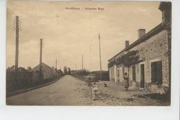 SONCHAMP - Hameau De GREFFIERS - Grande Rue - Andere Gemeenten