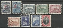TURQUIE 1929 + Surcharges - 9 Timbres Lot 33 Tous Differents Voir DETAIL ANNONCE - Turquie