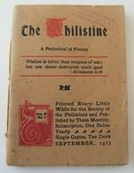 The Philistine Protest Religion Wrigley's Spearmint Gum Conklin's Maltnutrine - Livres, BD, Revues