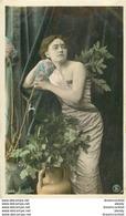 WW Superbe Et Rare Lot 10 Cpa FANTAISIES Dont Femmes, Enfants, Bonne Année, 1er Avril, Animaux, Fleurs, Fête Ect... - 5 - 99 Postcards