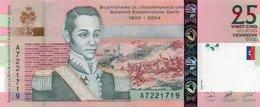 HAITI 25 GOURDES 2004  P-273a  UNC - Haïti