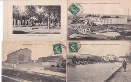 L014....4 CPA DEP11.....CASTELNAUDARY - Ansichtskarten
