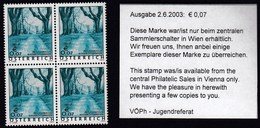 Austria 2003 / Holidays, Heiligenkreuz Niederosterreich, Monuments, Trees / MNH - 1945-.... 2. Republik