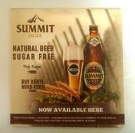 Summit Lager Beer Coaster - Sous-bocks