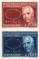 Ref. 95962 * NEW *  - DENMARK . 1963. 50th ANNIVERSARY OF NIELS BOHR'S THEORY ON ATOMIC STRUCTURE . 50 ANIVERSARIO DE LA - Danimarca