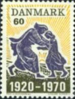 Ref. 143823 * NEW *  - DENMARK . 1970. 50th ANNIVERSARY OF NORTH SCHLESWIG AND DENMARK UNION. 50 ANIVERSARIO DE LA UNION - Danimarca