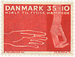 Ref. 98358 * NEW *  - DENMARK . 1963. DISABLED PERSONS WELFARE FUND. PRO DISCAPACITADOS - Danimarca