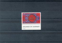 NE - Guernesey - 219 -Le Sceau Du Bailliwick - 5£ - Lots & Serien