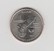 QUARTER DOLLAR DE GUAM 2009 - Munten