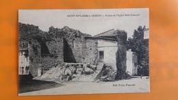 Saint Guilhem Le Desert - Ruines De L'eglise Saint Laurent - France