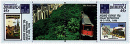 Ref. 6062 * NEW *  - DOMINICA . 1994. HONG KONG 94. INTERNATIONAL PHILATELIC EXHIBITION. HONG KONG 94. EXPOSICION FILATE - Dominica (1978-...)