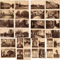 CP 03 Allier Sept Fons Abbaye Notre Dame Saint-Lieu Bosquet Cimetière Moulin Rucher 30 Cartes - Autres Communes