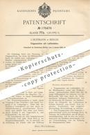 Original Patent - J. Hofmann , Berlin , 1906 , Flugmaschine Mit Luftbehälter | Luftpumpe , Fliegen , Flieger , Luftfahrt - Historische Dokumente